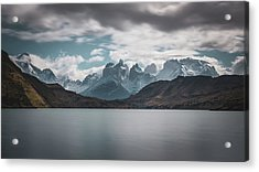 Somewhere Over The Mountain Range Acrylic Print