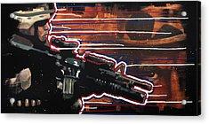 Son Of Sam Acrylic Print by Michael Figueroa