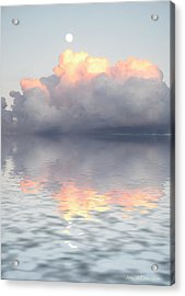 Son Of Zeus Acrylic Print by Jerry McElroy