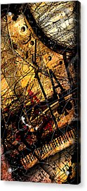 Sonata In Ace Minor Panel 3 Acrylic Print by Gary Bodnar
