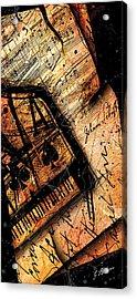Sonata In Ace Minor Panel I Acrylic Print by Gary Bodnar