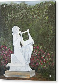 Sonata Acrylic Print by Shirley Lawing