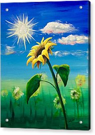 Sonflower Acrylic Print
