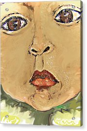 Sonflower Acrylic Print by Noredin Morgan