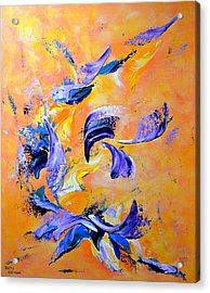 Song Of Spring Acrylic Print by Thierry Vobmann