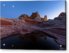 Acrylic Print featuring the photograph Song Of The Desert by Dustin LeFevre