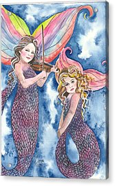 Song Of The Sirens Acrylic Print