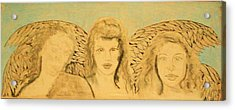 Song Of The Sisters Unfinished Acrylic Print by J Bauer