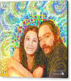 Sonia Marie And Her Sweetheart Acrylic Print