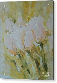 Sonnet To Tulips Acrylic Print