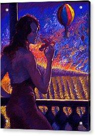 Sonoma Sunrise Acrylic Print