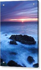 Sonoma Sunset Acrylic Print by Eric Foltz