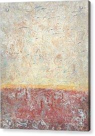 Sonoran Desert #2 Southwest Vertical Landscape Original Fine Art Acrylic On Canvas Acrylic Print