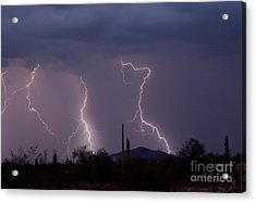 Sonoran Storm Acrylic Print by James BO  Insogna