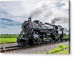 Acrylic Print featuring the photograph Soo 1003 At Darien 2 by Randy Scherkenbach