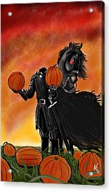 Soon It Will Be All Hallows' Eve Acrylic Print