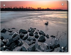 Soon To Be Frozen Acrylic Print