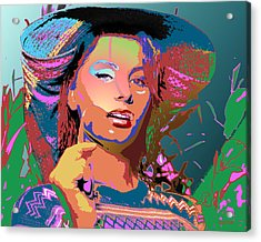 Acrylic Print featuring the digital art Sophia 4 by John Keaton