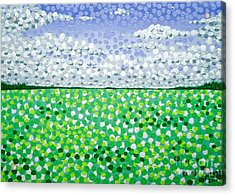 Sophia's Landscape Acrylic Print by Alan Hogan