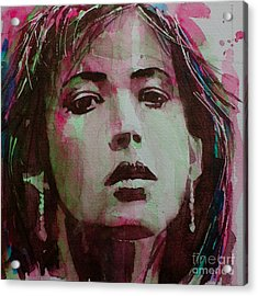 Sophie Acrylic Print by Paul Lovering