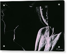 Sophisticate Acrylic Print by Richard Young