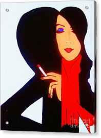 Acrylic Print featuring the painting Sophistication by Roberto Prusso