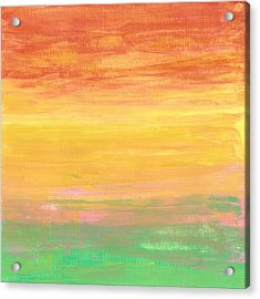 Sorbet Sunset Acrylic Print