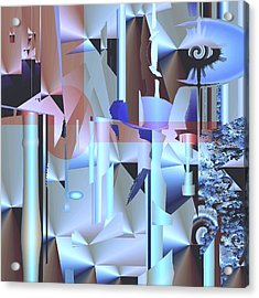 Sorbitol Acrylic Print by Elsbeth Lane