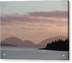 Acrylic Print featuring the photograph Sorrento Sunset by Francine Frank