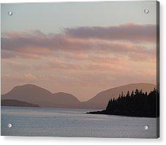 Sorrento Sunset Acrylic Print by Francine Frank