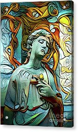 Sorrowful Angel 1 Acrylic Print
