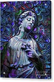 Sorrowful Angel 2 Acrylic Print