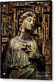 Sorrowful Angel 3 Acrylic Print by Amy Cicconi