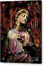 Sorrowful Angel 4 Acrylic Print by Amy Cicconi