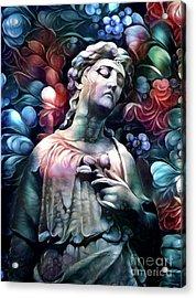 Sorrowful Angel 7 Acrylic Print