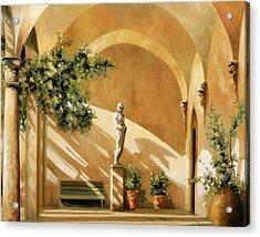 Sotto Il Portico Acrylic Print