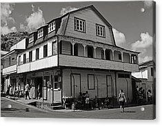 Soufriere House- St Lucia Acrylic Print