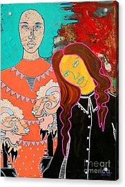 Soul Guardian Acrylic Print by Amy Sorrell