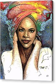 Soul Of A Woman   Acrylic Print by  Albert Fennell