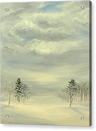 Soul Of Winter Acrylic Print by Deserie Waryck