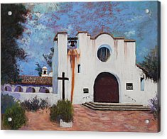 Acrylic Print featuring the painting Soul Retreat by M Diane Bonaparte
