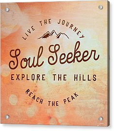 Soul Seeker 1 Acrylic Print by Brandi Fitzgerald