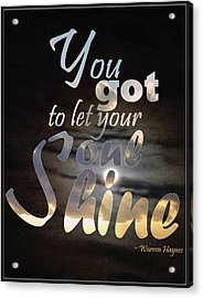 Soul Shine Acrylic Print