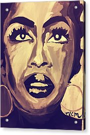 Soul Sister  Acrylic Print by Miriam Moran