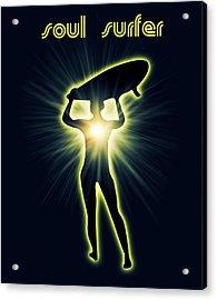 Soul Surfer Acrylic Print by Mark Ashkenazi