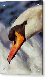 Soul Swan By Pierre Blanchard Acrylic Print