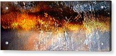 Soul Wave - Abstract Art Acrylic Print by Jaison Cianelli