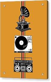 Sound Evolution 4 Acrylic Print