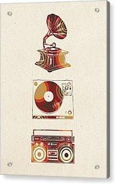 Sound Evolution 6 Acrylic Print