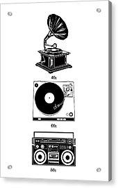 Sound Evolution Acrylic Print